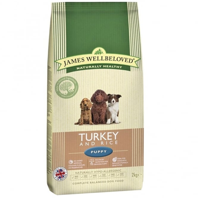 James Wellbeloved Performance Puppy Food with Turkey and Rice Puppy