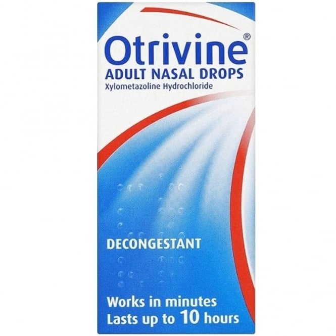 Otrivine Adult Nasal Drops 10ml
