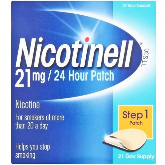 Nicotinell 21mg Patch 7 pack