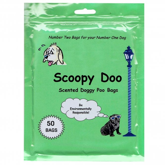 Scoopy Doo Scented Biodegradable Poop Bags (50's)