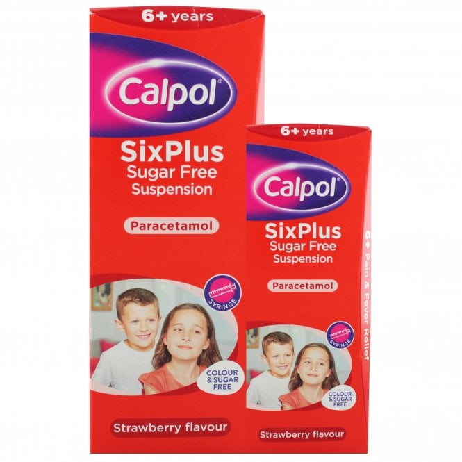Calpol Six Plus Sugar Free Oral Suspension
