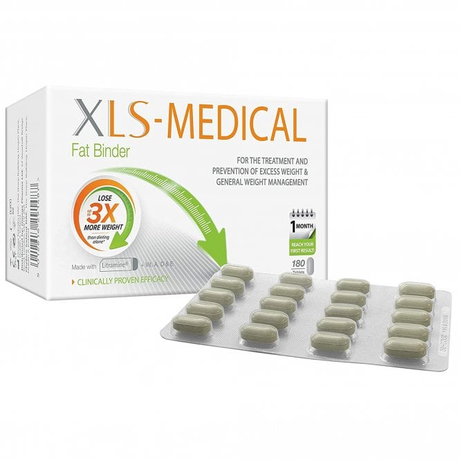 Xls Medical XLS-Medical Fat Binder Tablets x 180