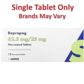 Atovaquone and Proguanil Paediatric 62.5mg/25mg Single Tablet (equivalent To Malarone Paediatric)