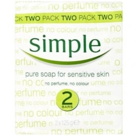 Simple Pure Soap 2 x 125g
