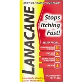 Lanacane Anaesthetic Cream 30g
