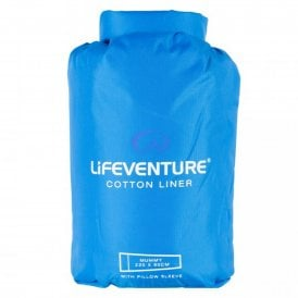 Lifeventure Cotton Sleeping Bag Liner (65530)