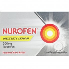 Nurofen Meltlets Lemon x 12