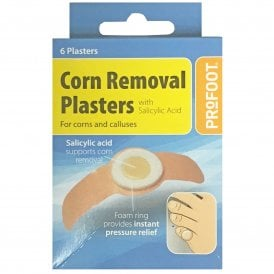 ProFoot Corn Removal Plasters X 6