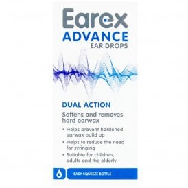 Earex Advance Ear Wax Drops 12ml