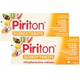 Piriton 4mg Allergy Tablets