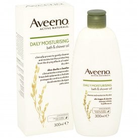 Aveeno Bath & Shower Oil 300ml