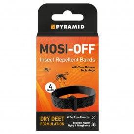 Pyramid Mosi-Off Insect Repellent Bands