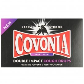 Covonia Double Impact Berry Blast Extra Strong Cough Lozenges
