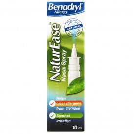 Benadryl NaturEase Nasal Spray 10ml