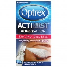 Optrex ActiMist Double Action Eye Spray For Dry & Tired Eyes 10ml