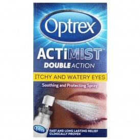 Optrex ActiMist Double Action Eye Spray For Itchy & Watery Eyes 10ml