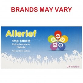 Chlorphenamine 4mg Allergy Tablets x 28