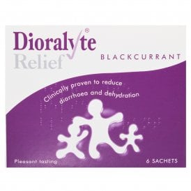 Dioralyte Relief Sugar Free Blackcurrant Sachets x 6