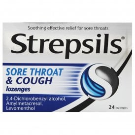 Strepsils Sore Throat & Cough Lozenges x 24