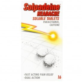 Solpadeine Headache Soluble Tablets x 16