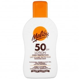 Malibu High Protection SPF50 Lotion 200ml