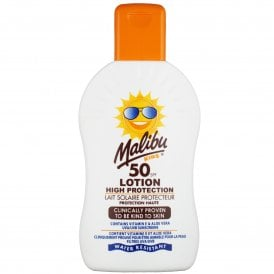 Malibu Kids High Protection SPF50 Lotion 200ml