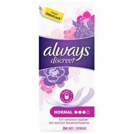 ALWAYS Discreet Liners (Size 3) 24 Liners