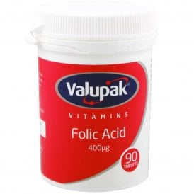 Valupak Folic Acid x 90
