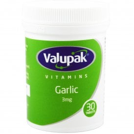 Valupak Garlic 3mg x 30