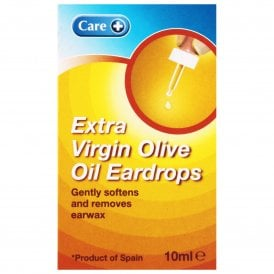 Care Extra Virgin Olive Oil Eardrops 10ml