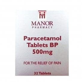 Paracetamol 500mg Tablets x 32