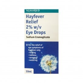 Sodium Cromoglicate Hayfever Relief 2% Eye Drops 10ml