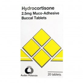Hydrocortisone Buccal 2.5mg Tablets X 20