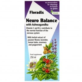 Floradix Neuro Balance With Ashwagandha 250ml