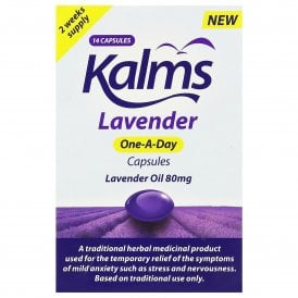 Kalms Lavender One-A-Day Capsules x 14