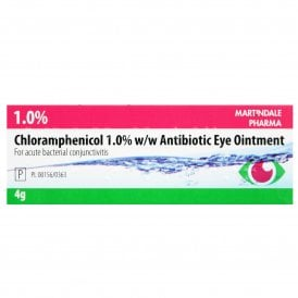 Chloramphenicol Antibiotic Eye Ointment 1% 4g