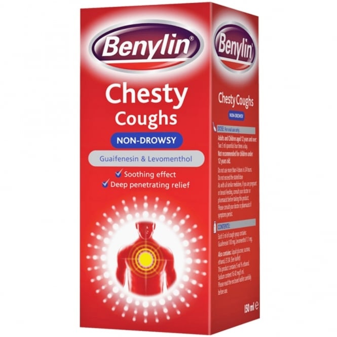 Benylin Chesty Coughs Non-drowsy 150ml