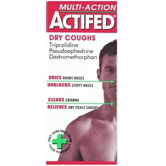 Actifed Multi Action Dry Cough Liquid 100ml