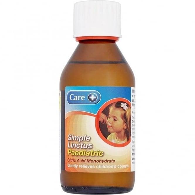 Care+ Simple Linctus Paediatric BP 200ml