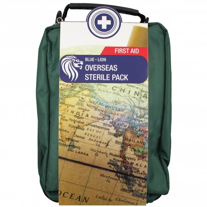 Blue Lion Overseas Sterile First Aid Kit