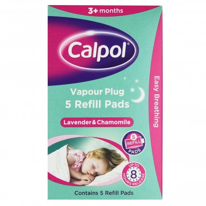Calpol Vapour Plug Refill Pads X 5