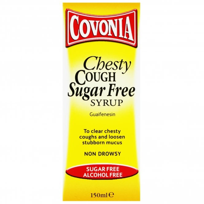 Covonia Chesty Cough Sugar Free Syrup 150ml