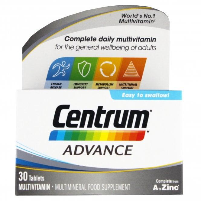 Centrum Advance Multivitamin Tablets x 30