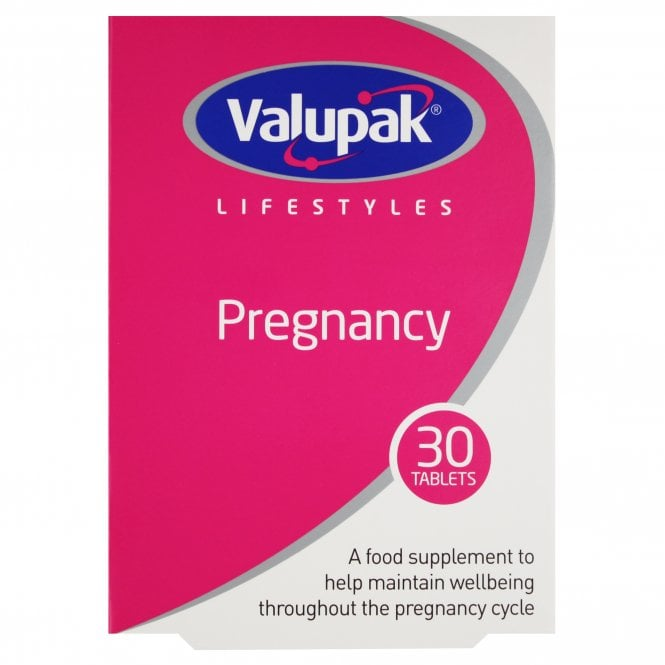 Valupak Pregnancy Tablets x 30