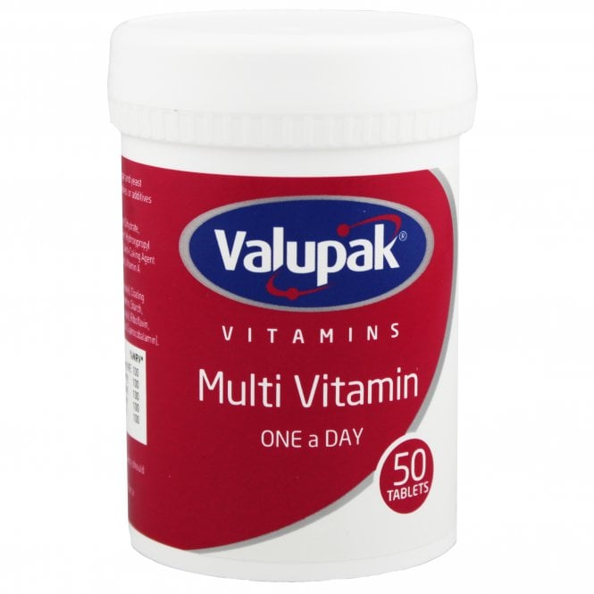 Valupak Multi Vitamin One A Day Tablets x 50