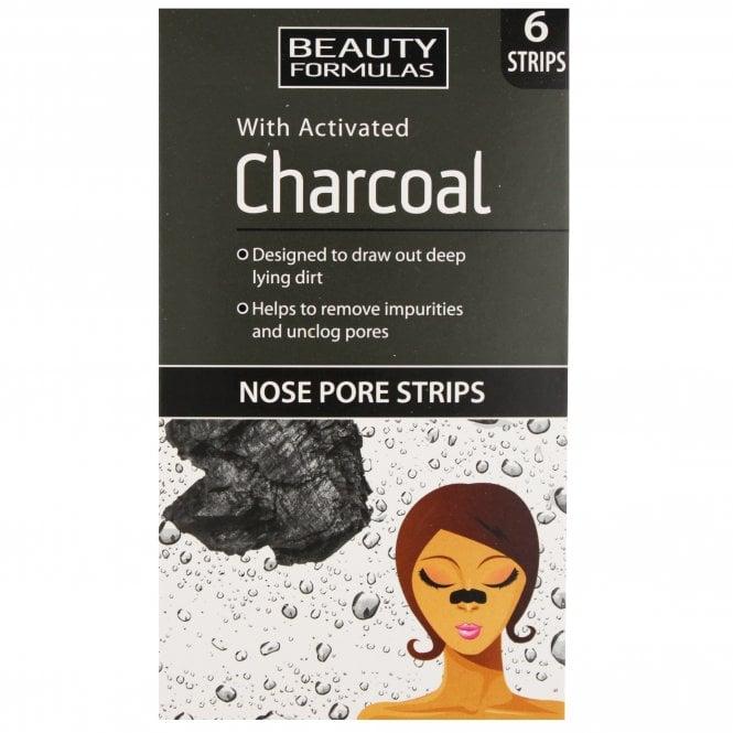 Beauty Formulas Charcoal Nose Pore Strips x 6