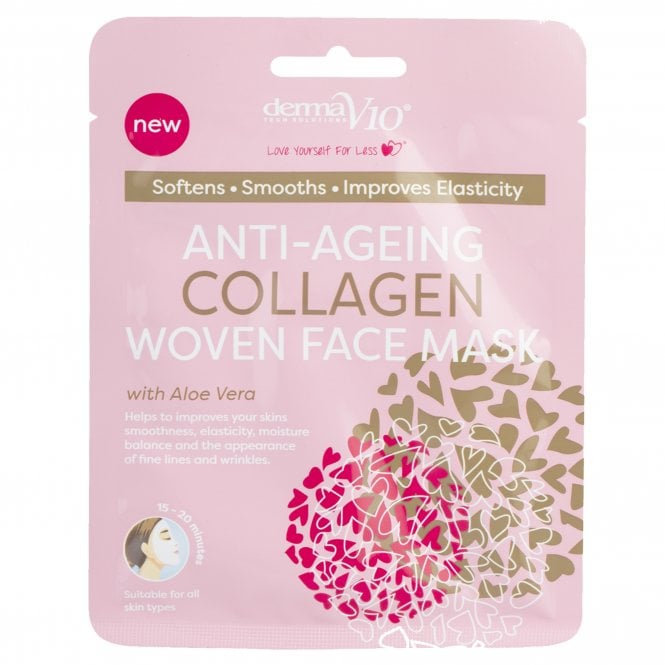 Anti-Ageing Collagen Woven Face Mask