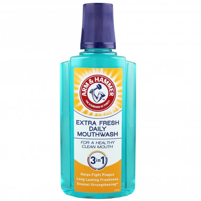 Arm & Hammer 3 In 1 Extra Fresh Daily Mouthwash 400ml