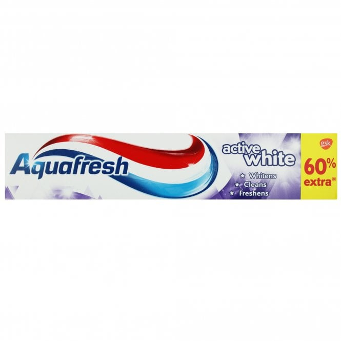 Aquafresh Active White Toothpaste 125ml