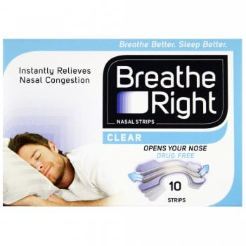 Breathe Right Nasal Strips Large x 10